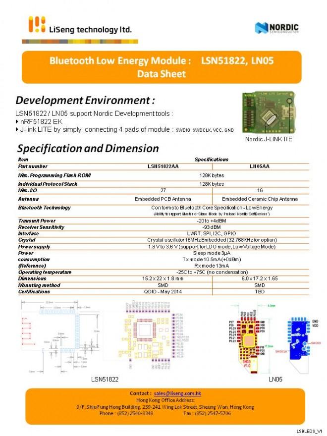 Li Seng BLE DS_LSN51822_201404_V1_P2